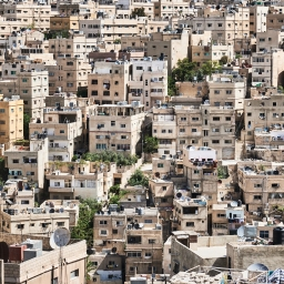 Passing through Amman, Jordan (2009)