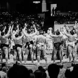 Sumo at Ryōgoku Kokugikan, Tokyo (2011)