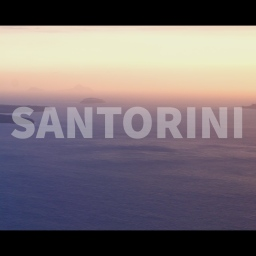 My First Travel Video Ever!  Santorini.  (2019)