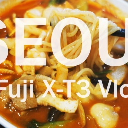 Eating in Seoul – My First Vlog! (2019)